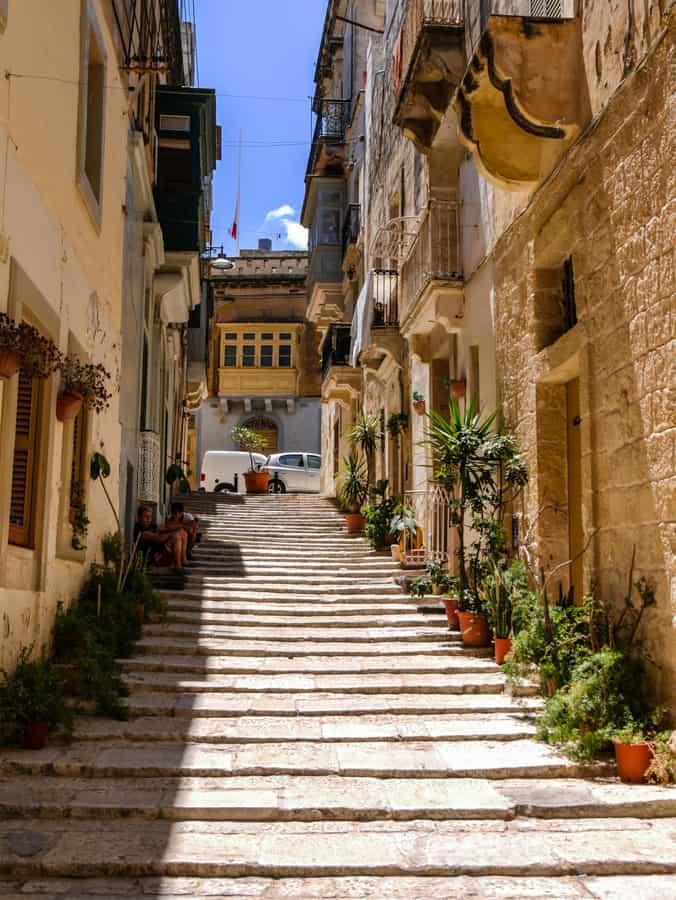 the streets of senglea
