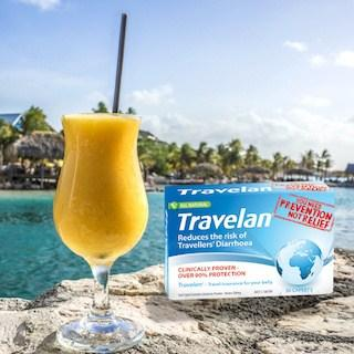 travelan travellers diarrhea tabs