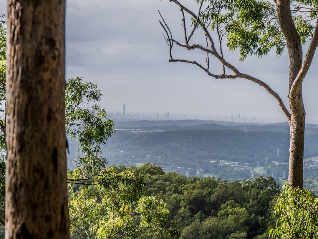 view to the gold coast