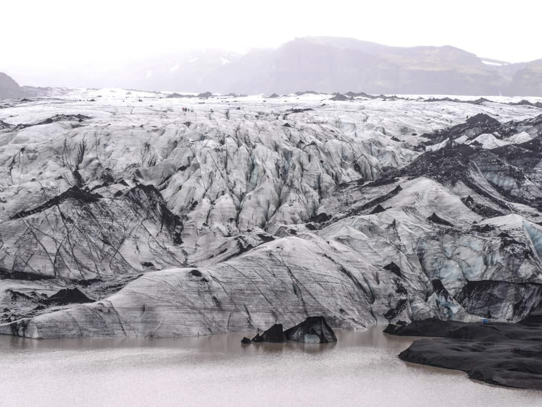 Mýrdalsjökull Glacier iceland