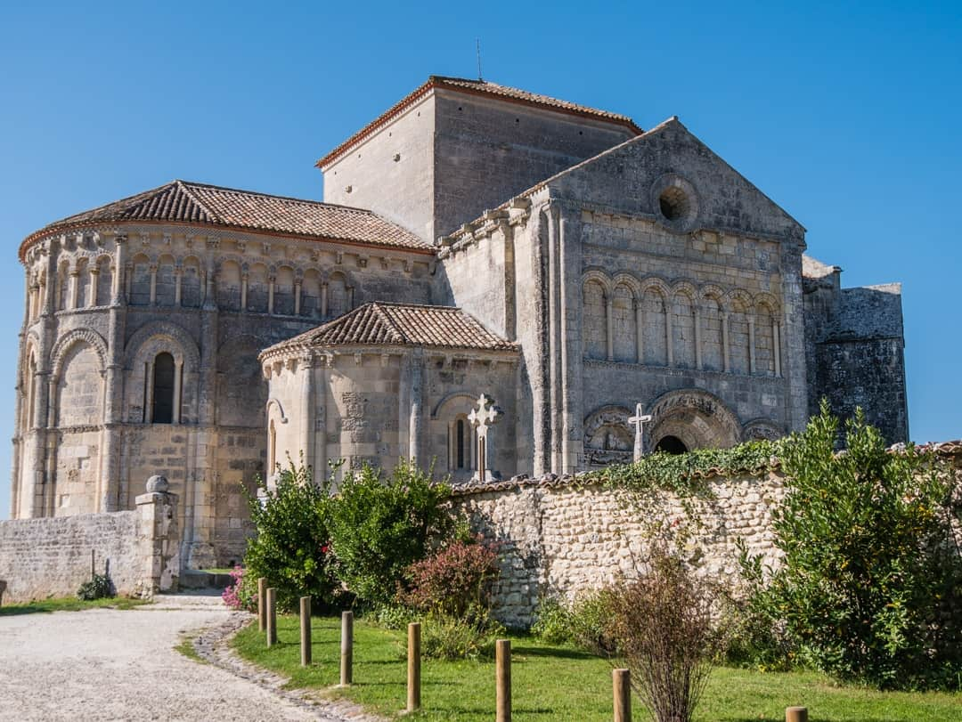 Romanesque art church of Sainte-Radegonde