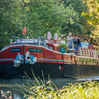 Barge holidays in France: a trip aboard the luxury barge Savannah
