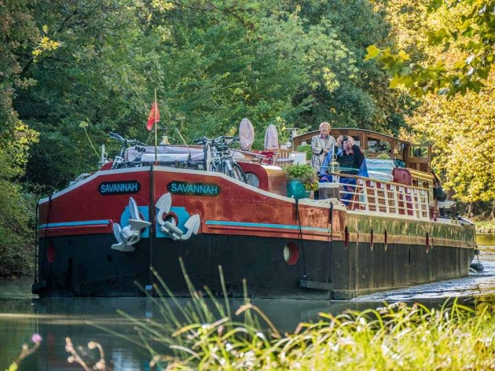 Savannah Barge France cruising