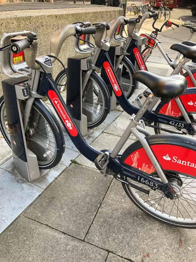 bikes london