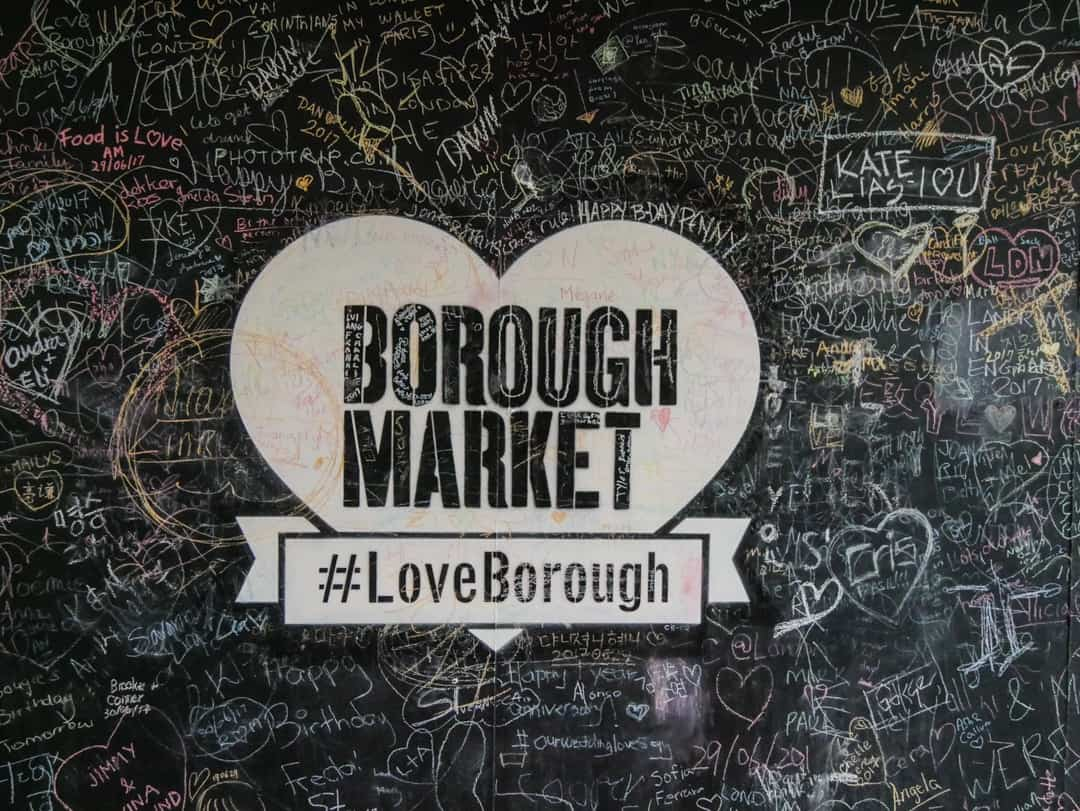 borough markets sign