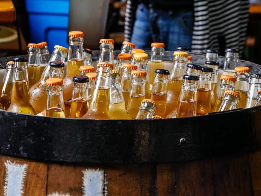 bottled cordials