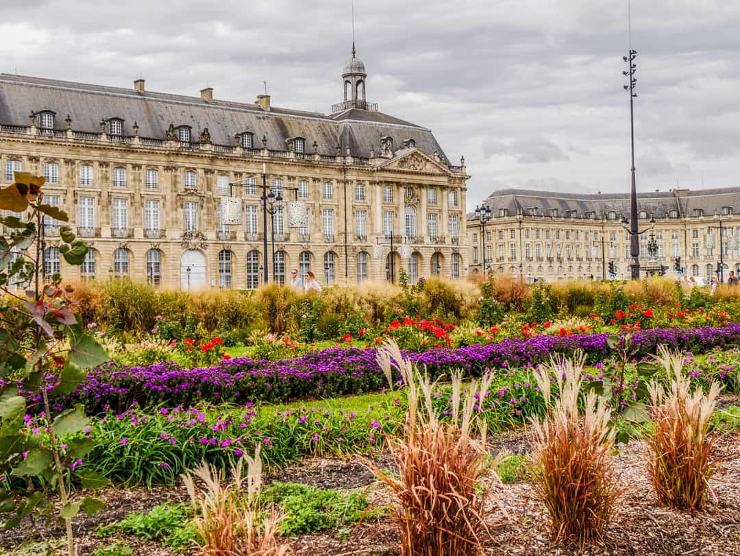 buildings of bordeaux