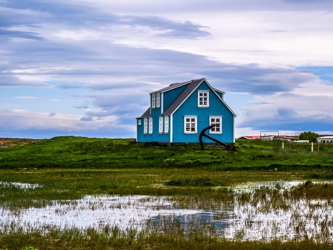 house in reykjanes peninsula on Iceland itinerary 8 days