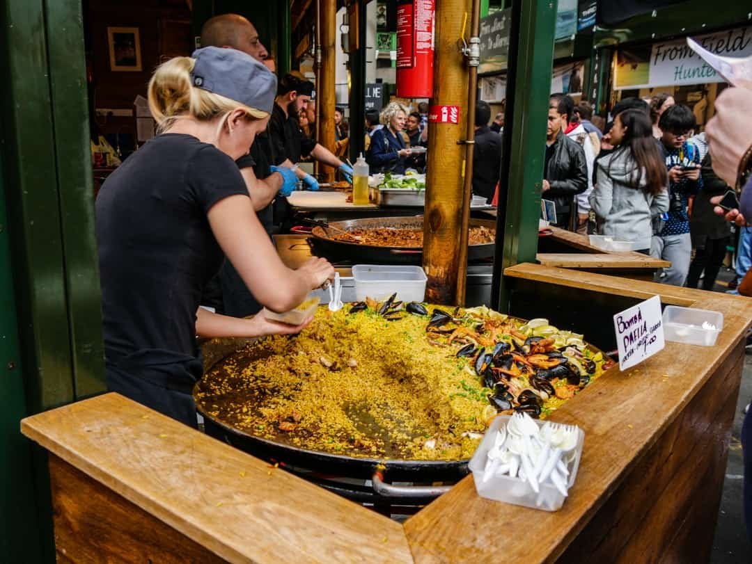 paella borough market