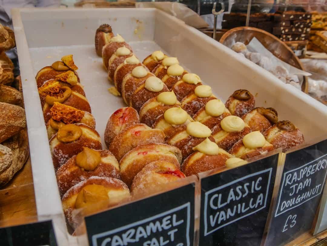 pastries borough market