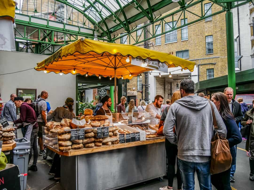the bread shop borough market