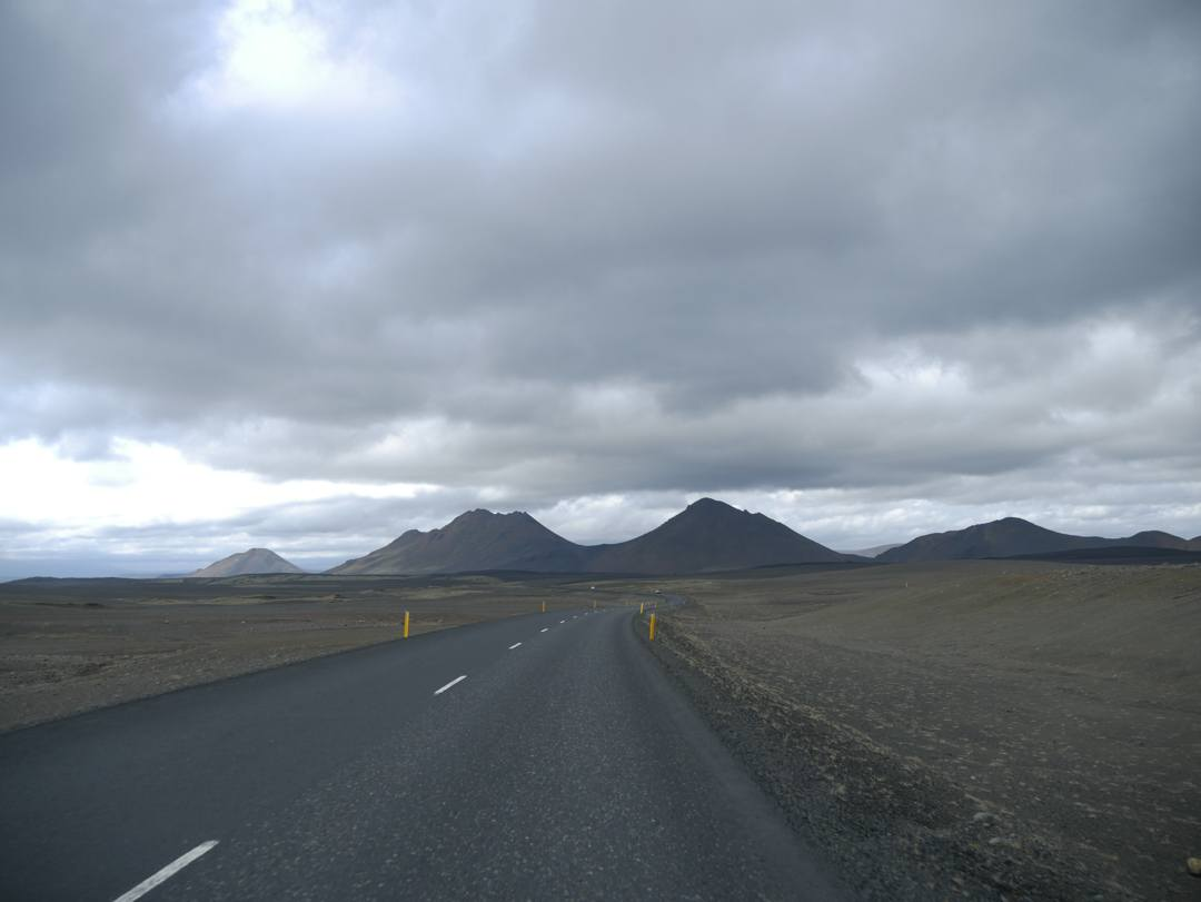 barren parts of the iceland landscape