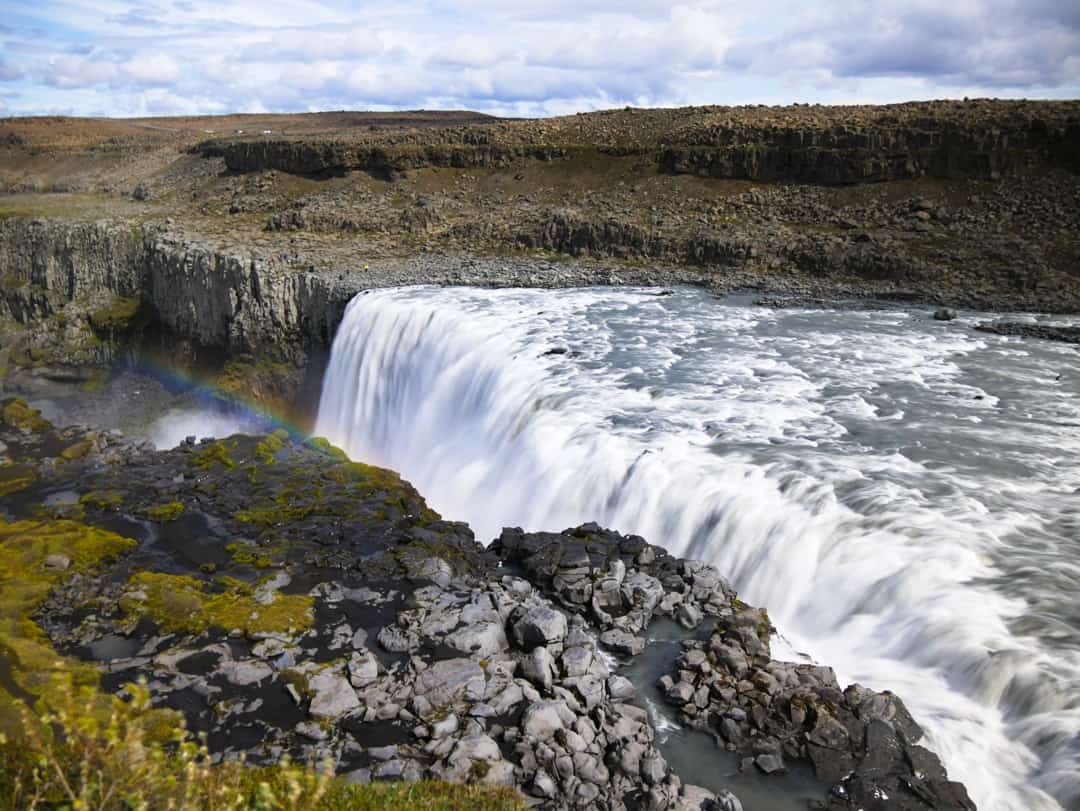 dettifoss iceland a North Iceland highlights