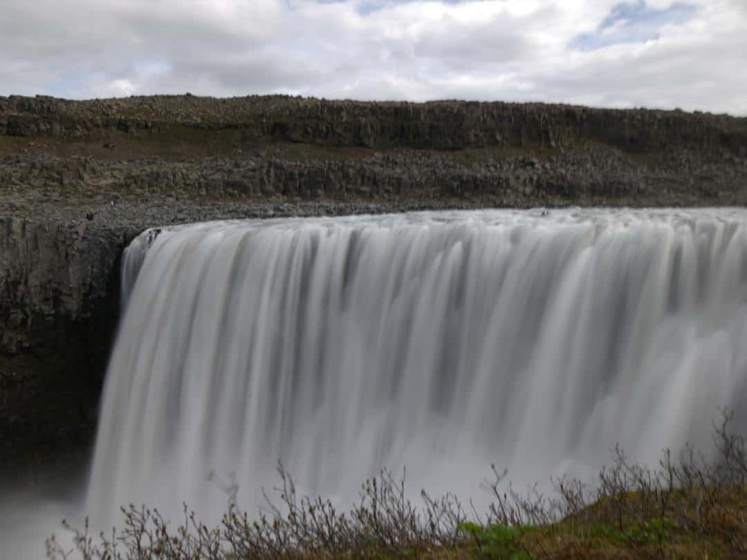 waterfall dettifoss