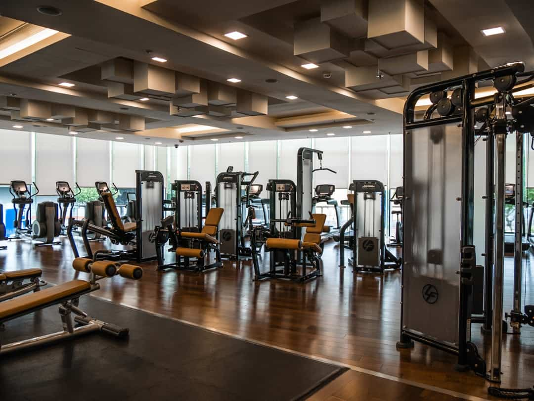 Marriott Skycity Hong Kong gym
