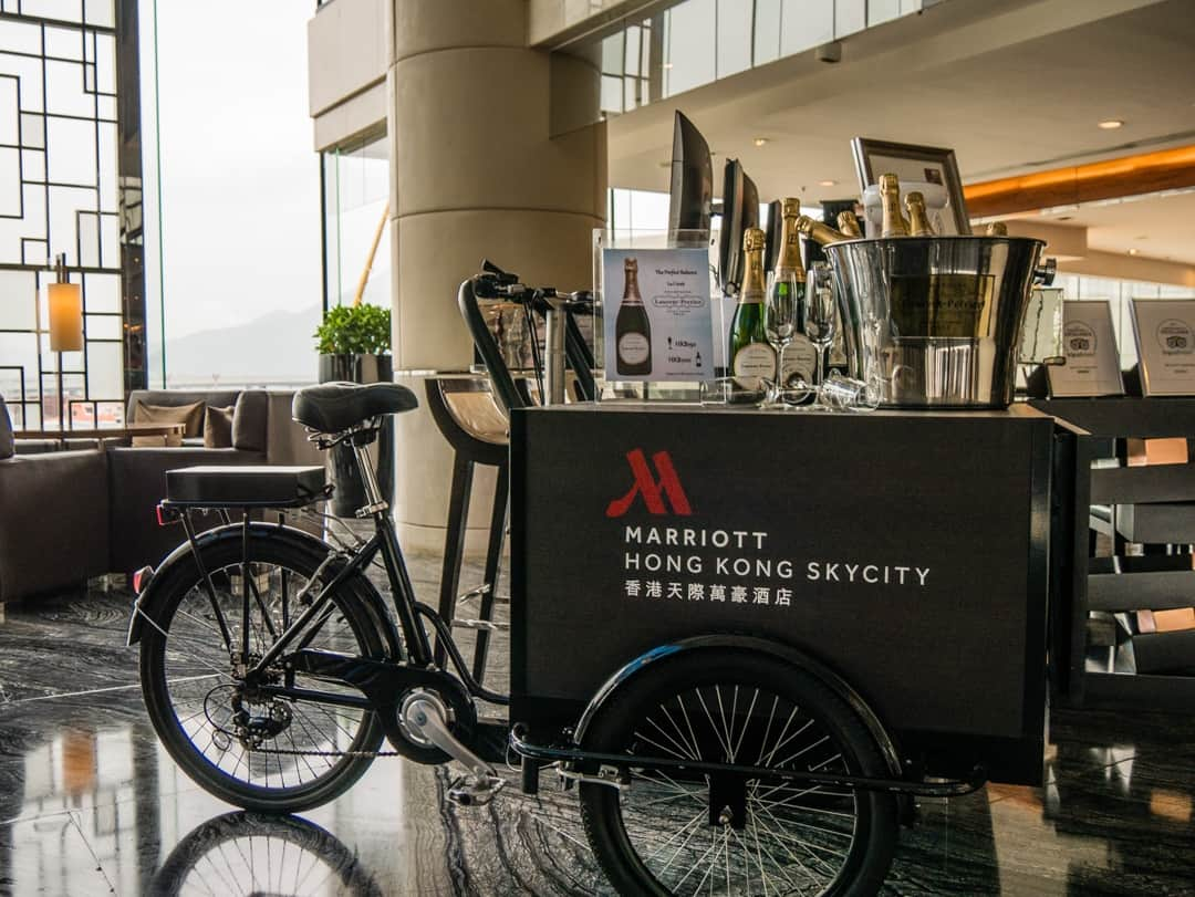 Marriott Skycity Hong Kong in bar