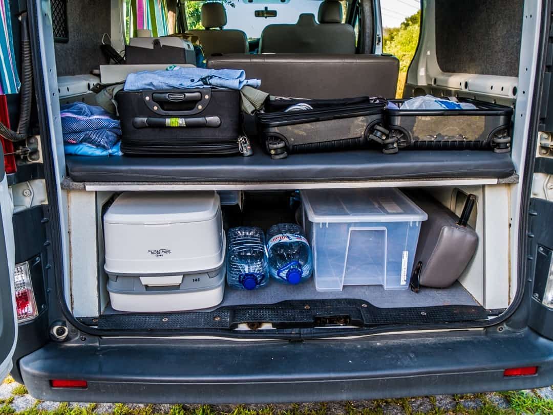 rear storage
