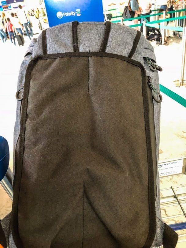 voyage travel bag covered