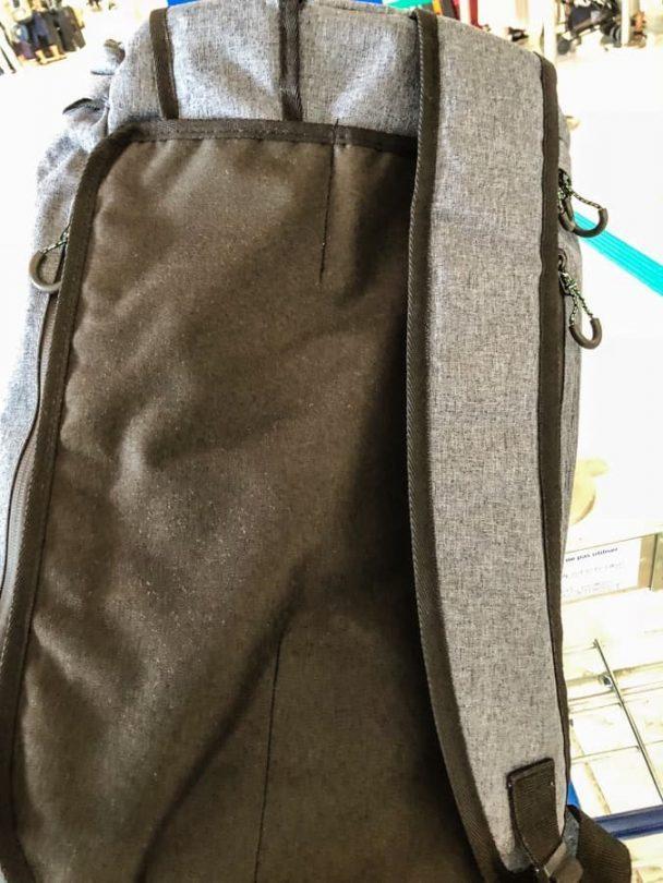 voyage travel bag covering straps