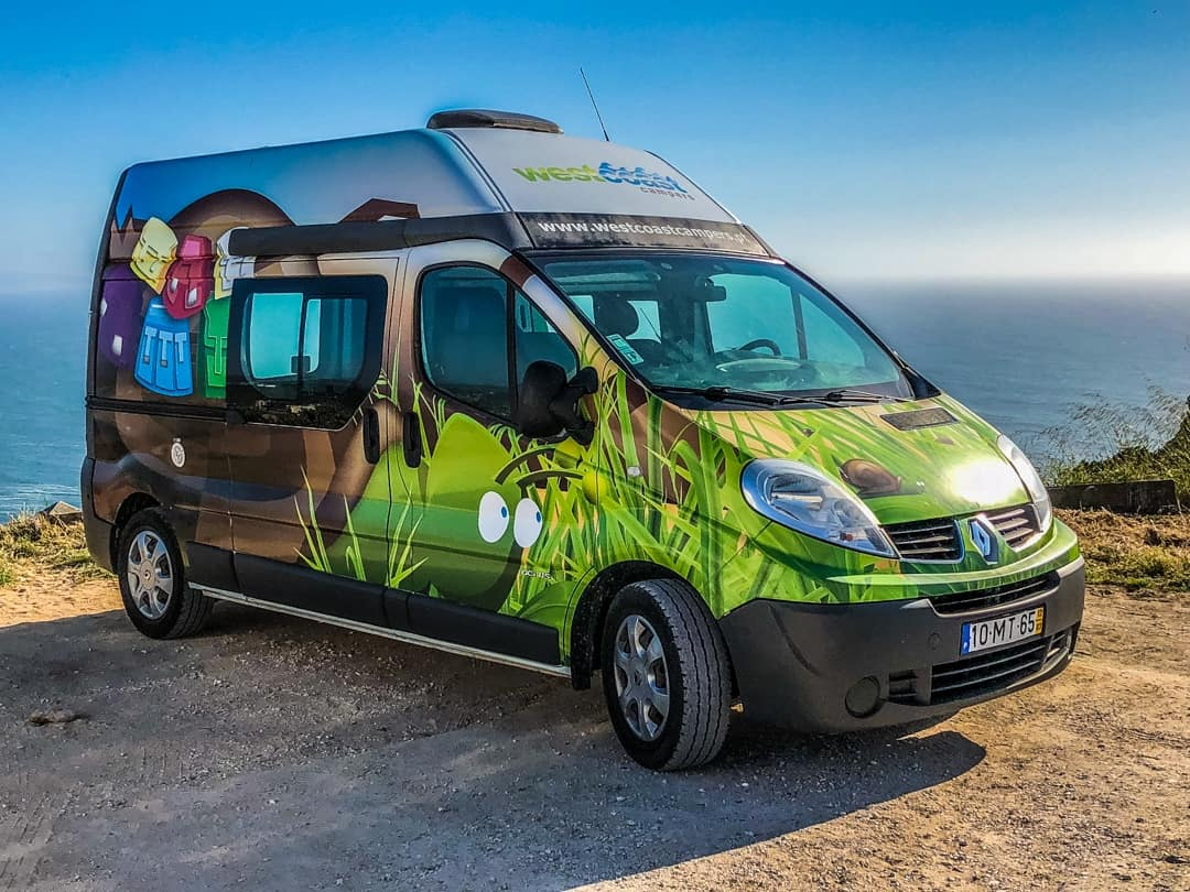 west coast campervan