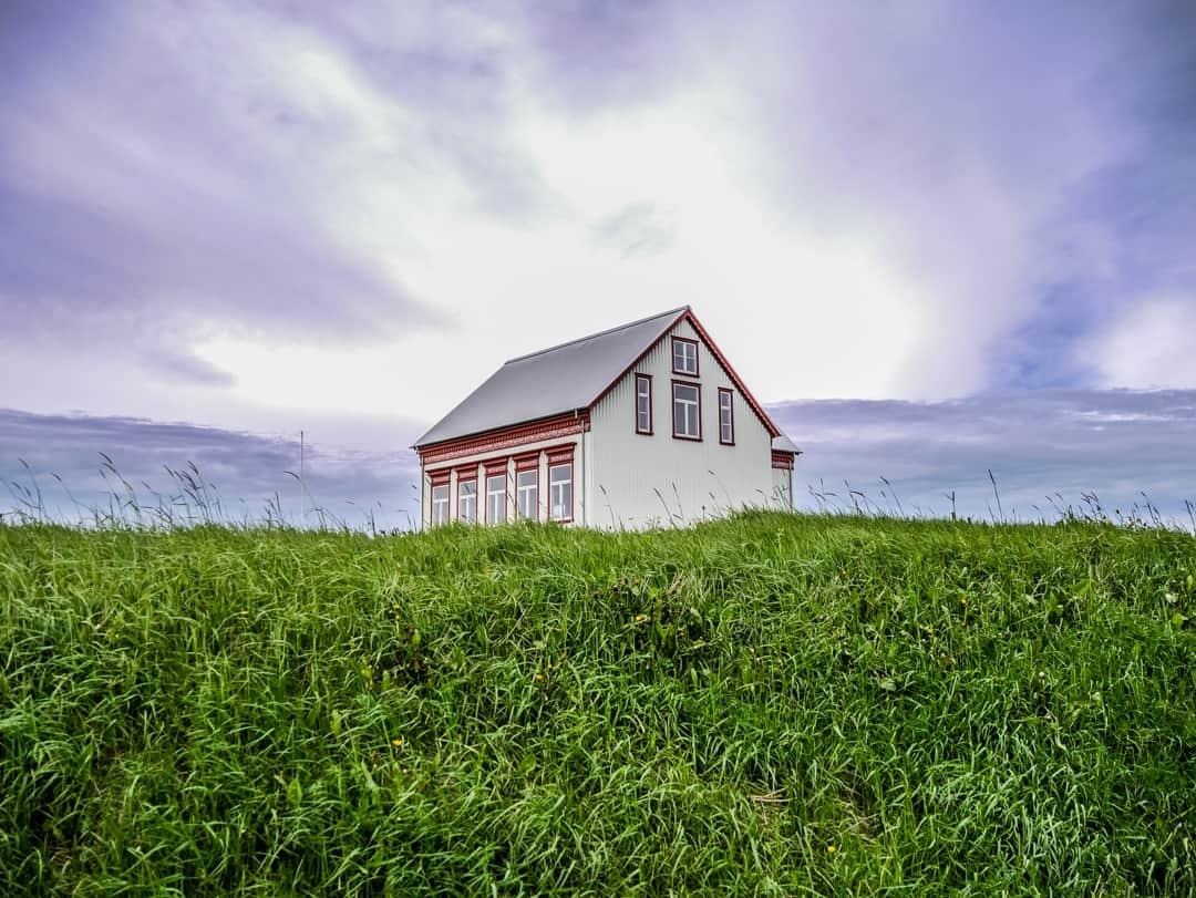 house on reykjanes peninsula iceland
