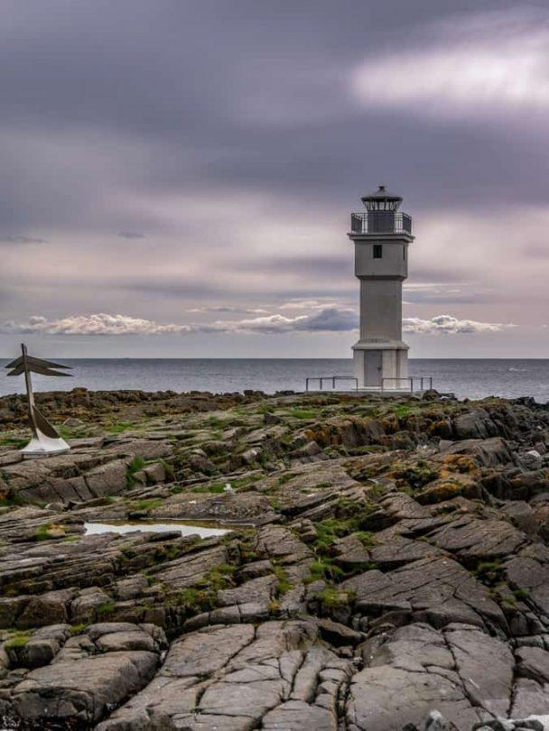 one of the oldest lighthouses in iceland