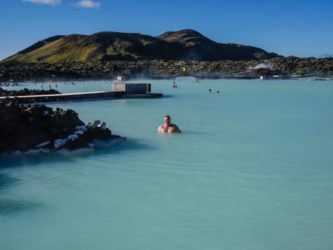 stirling in the blue lagoon
