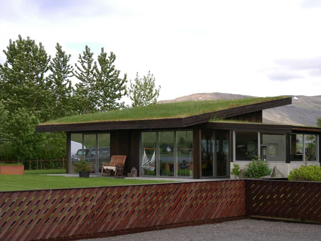 turf house on the lake Where to see seals in Iceland