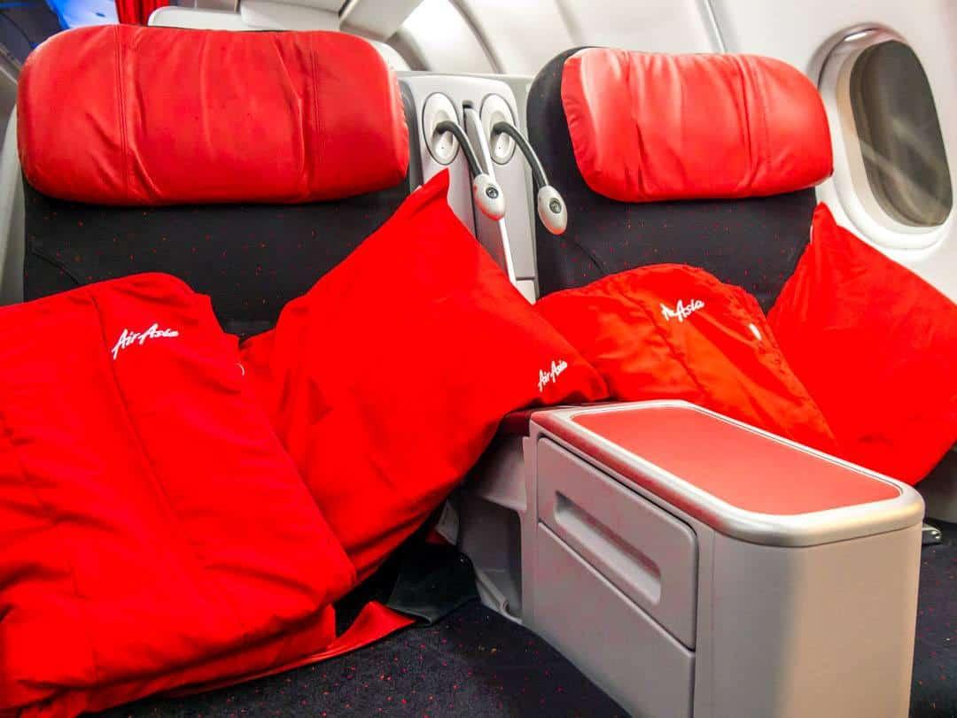 AirAsia premium flatbeds