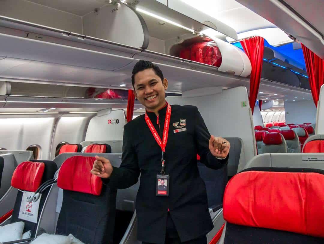 Airasia staff