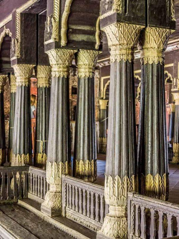 Bengaluru Tipus summer palace columns