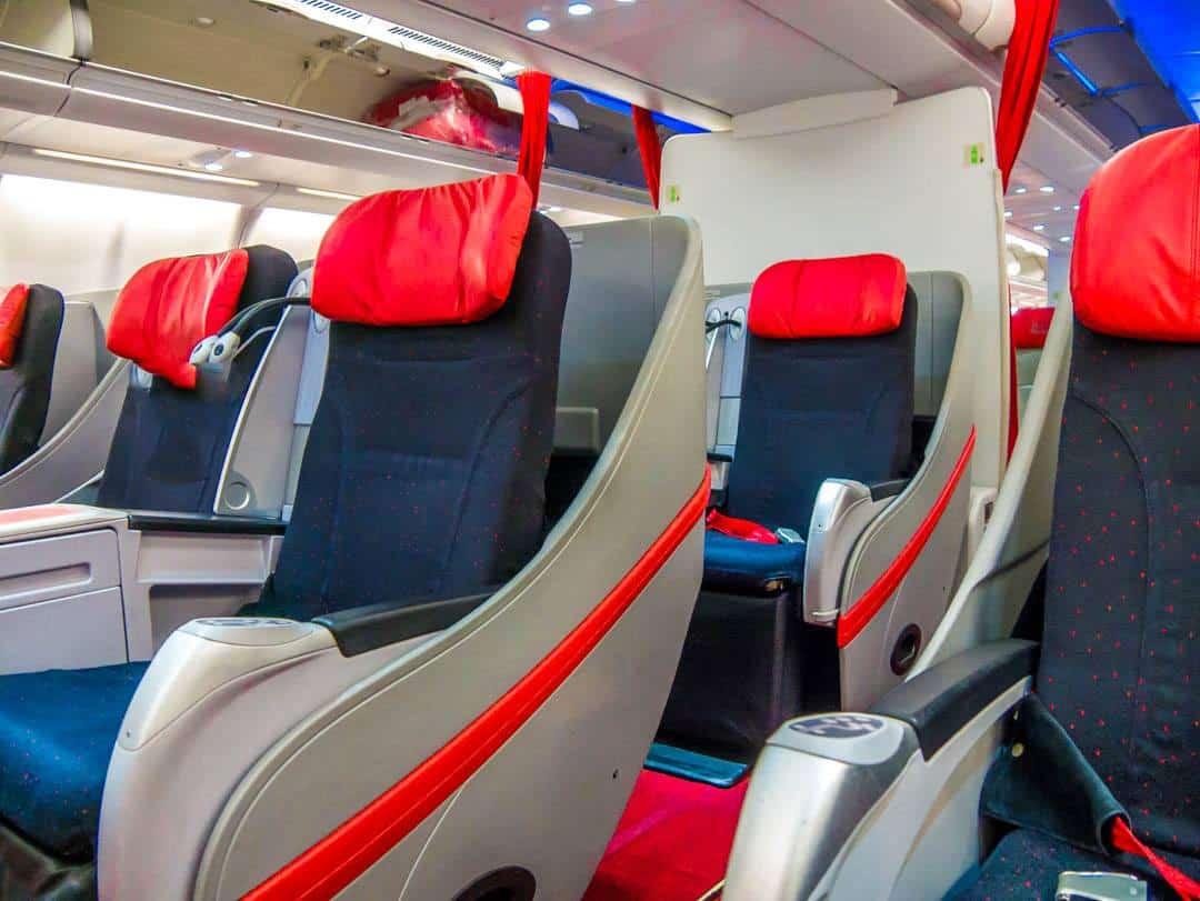 Premium flatbeds area Airasia