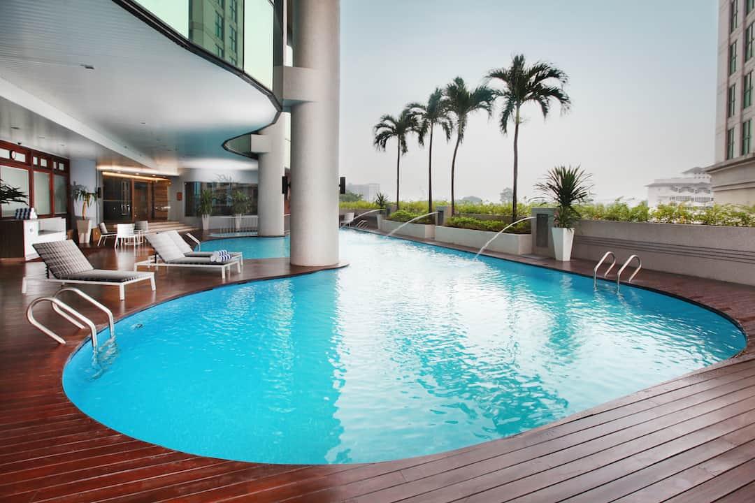 Swimming Pool at Dorsett Kuala Lumpur