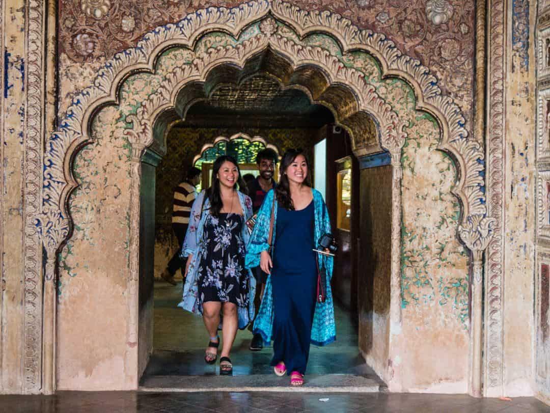 Tipu summer Palace srirangapatna arch