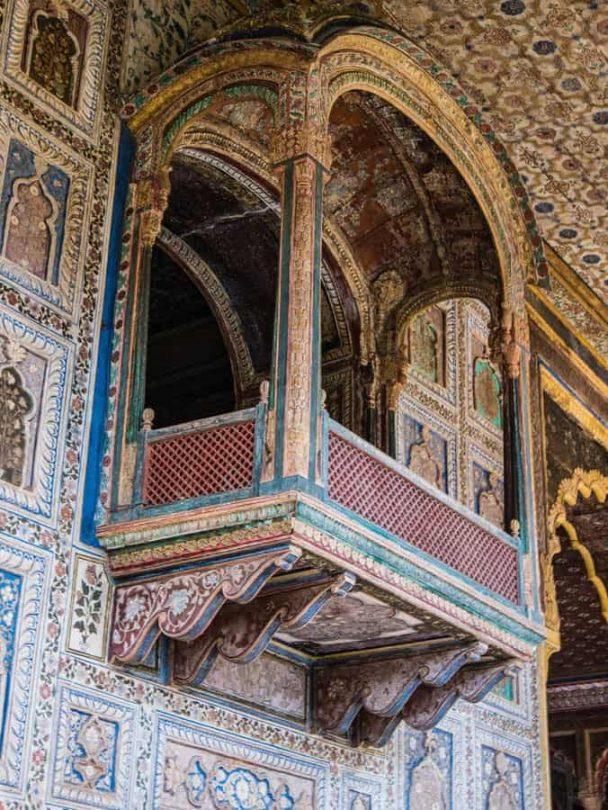 Tipu summer Palace srirangapatna balconies