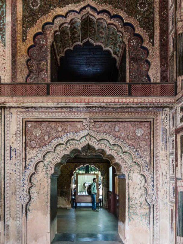 Tipu summer Palace srirangapatna hallweays
