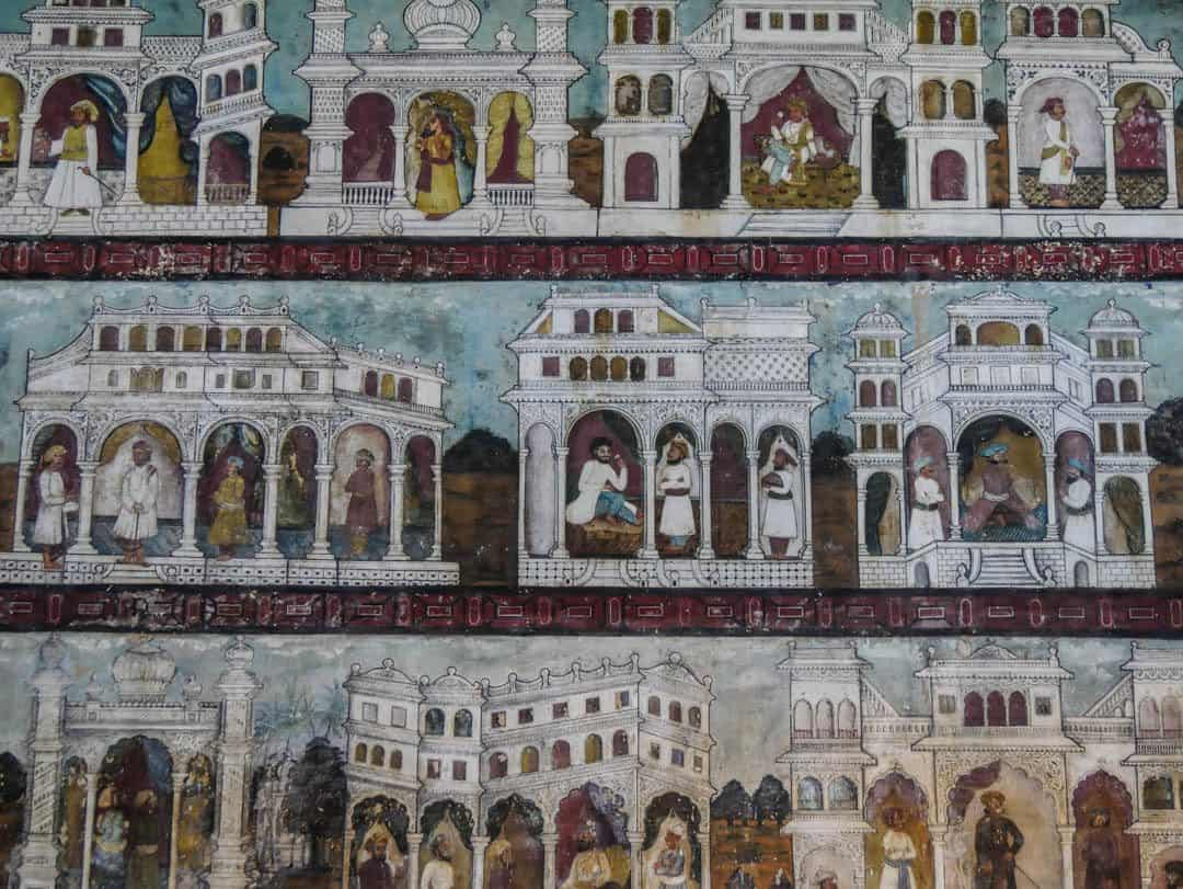Tipu summer Palace srirangapatna paintings