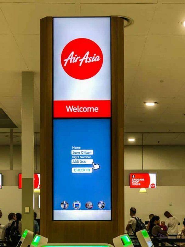 airasia signage