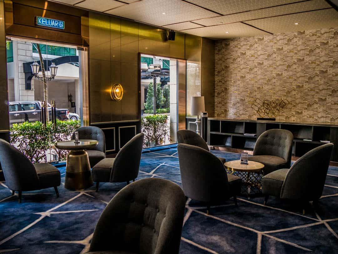 cafe area in lobby dorsett KL - dorsett kuala lumpur bukit bintang hotel