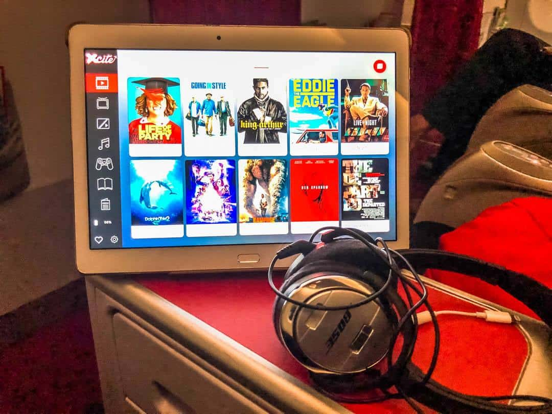 entertainment aboard low cost airlines asia