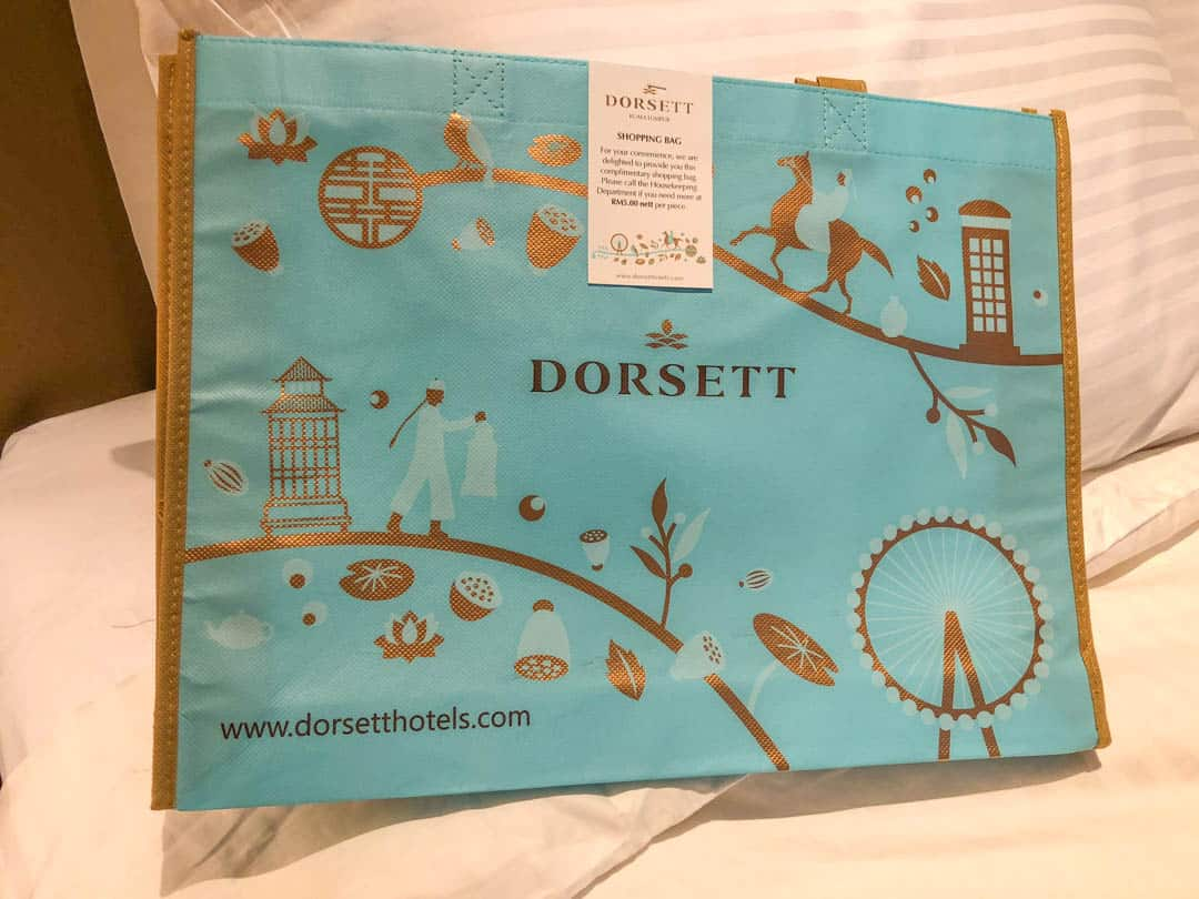 free dorsett shopping bag