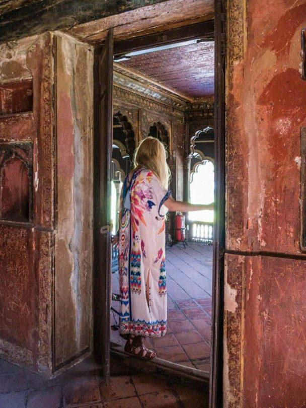 tipu sultans summer palace royal female rooms