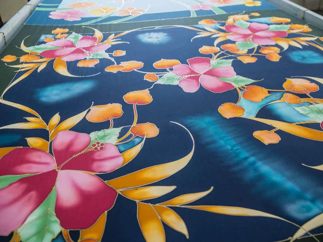 KL batik painting