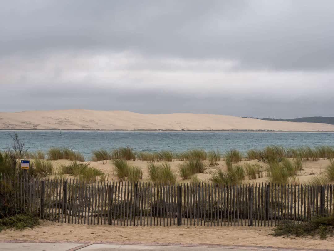 across to dune du pilat