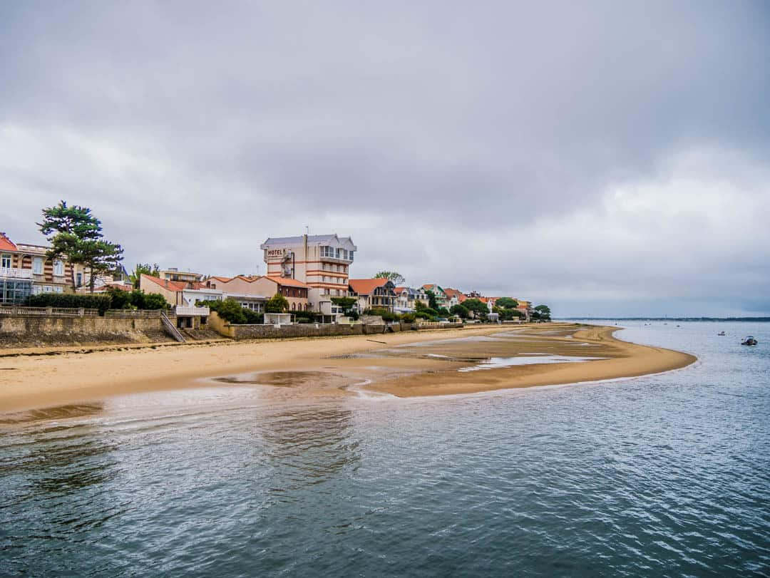 arcachon coastline
