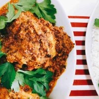 Kundapur curry chicken