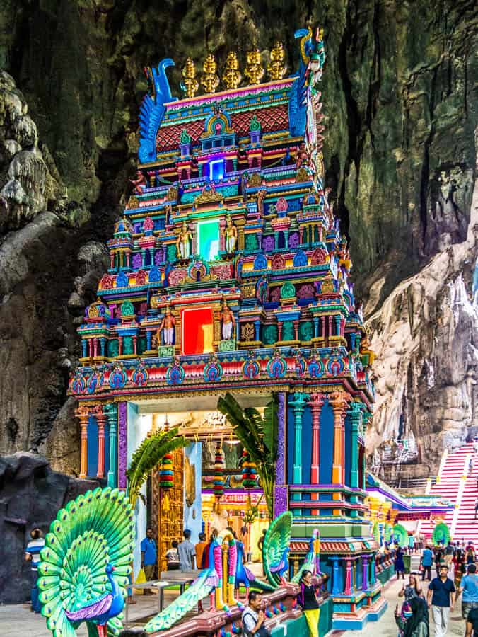 temple inside batu caves
