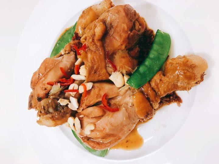 vietnamese chicken with chilli and lemongrass