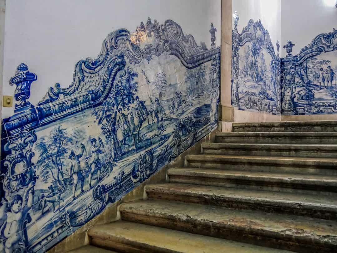 Monastery of São Vicente de Fora tiles