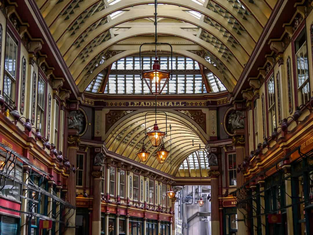 beauty of leadenhall market